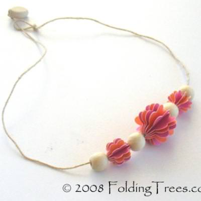 Pod Beads {Simple Paper Crafts}