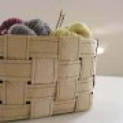Recycled Paper Basket {Recycled Craft}