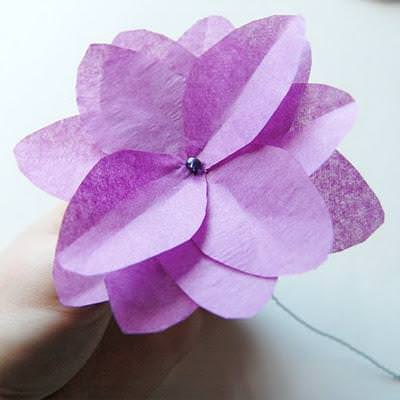 Tissue Paper Flowers {Simple Paper Crafts}