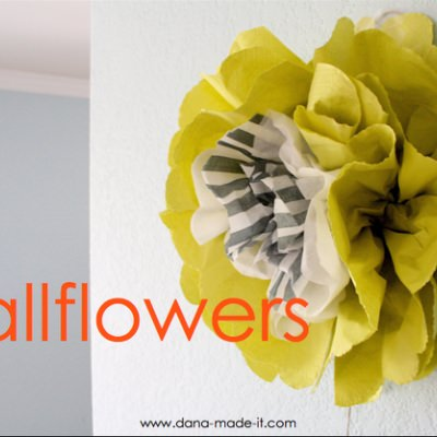 Wallflowers {Fun Paper Crafts}