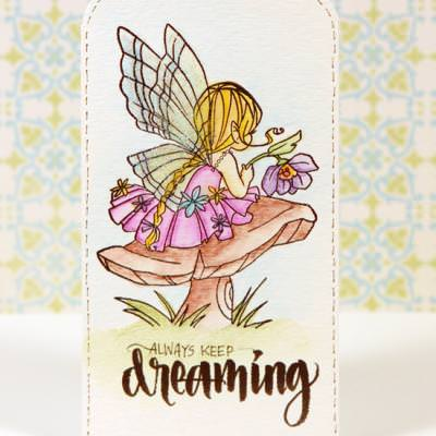 Watercolor Bookmarks and Tags {Stamping Video}