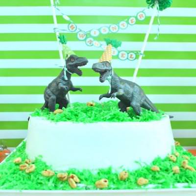 A Dino-Riffic Birthday Party