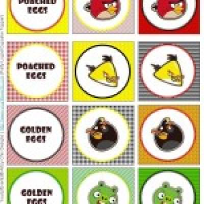 angry bird party printables free printables tip junkie