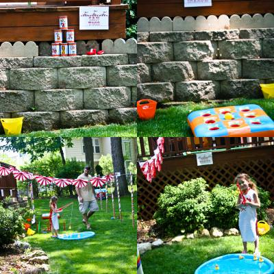 Carnival Circus Birthday Party {Party Games}