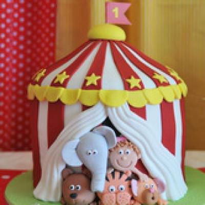 Circus 1st Birthday Party