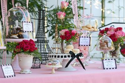 Desserts In Paris {Grown Up Party}