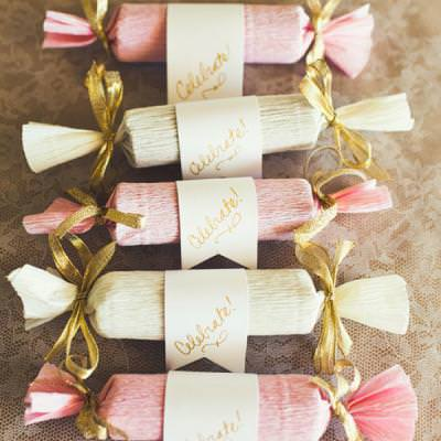 DIY Candy Poppers Wedding Favors Tip Junkie