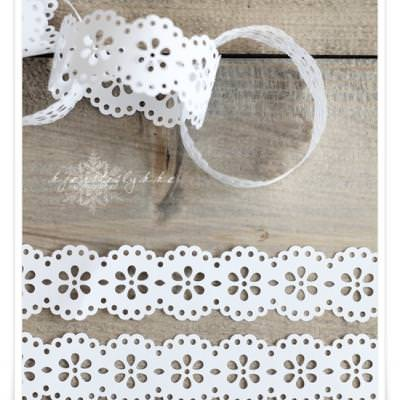 Doily Ring Chain Garland {Party Decor}