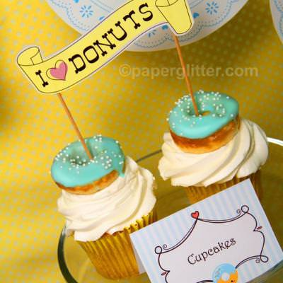 Donuts & Doilies Birthday Party {Birthday Party Themes}