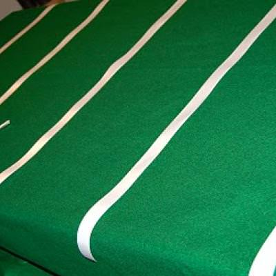 Football Field Table Cloth {Boy Birthday Party Ideas}