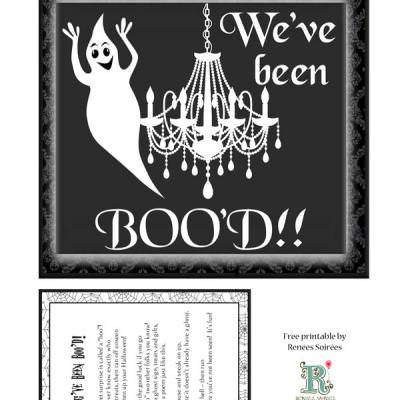 Free Boo'd printables