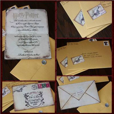 Harry Potter Invitation Tip Junkie