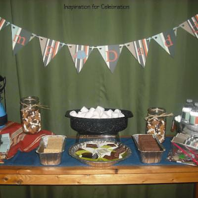 Indoor Camping Party {Fun Birthday Ideas}
