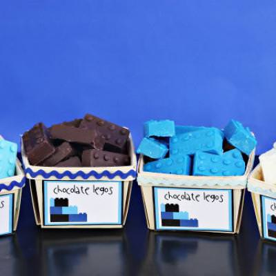 Lego Party Food {Party Food}