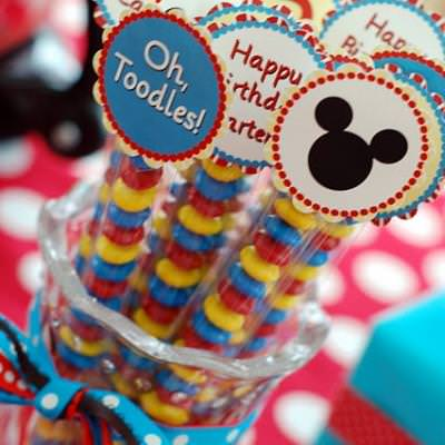 Mickey Mouse Twodles Birthday Party