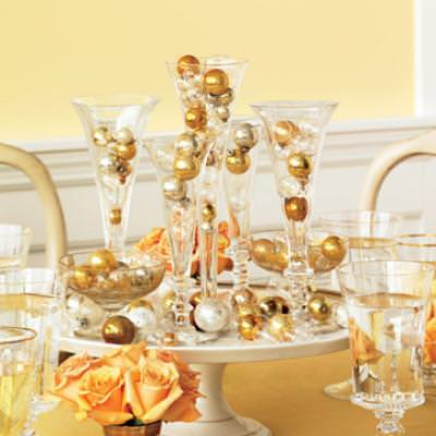New Years Eve Centerpiece {New Years Eve Celebration}