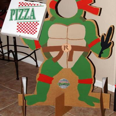 Ninja Turtle Themed Birthday Party