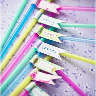 Party Straws {Party Things}
