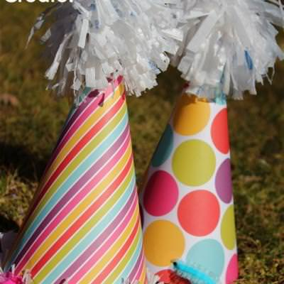 Pom Poms from Plastic Bags {tutorial}