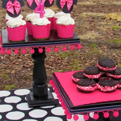 Pretty cake stands tutorial tip junkie for Pretty cake stands