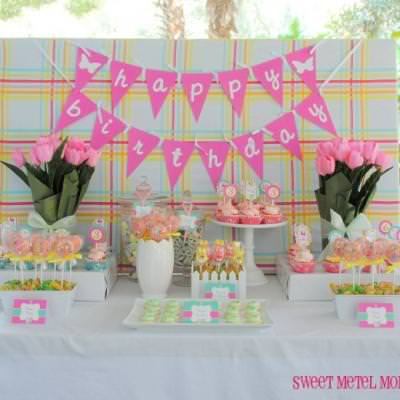 Spring Egg Hunt Birthday Party