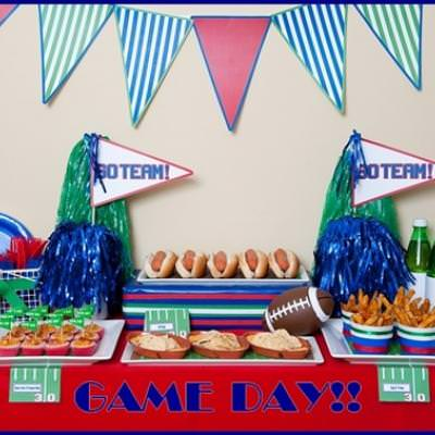 Super Bowl Party {Party Celebration}
