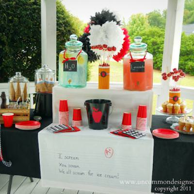 Teacher Appreciation Ice Cream Social {Party Ideas}