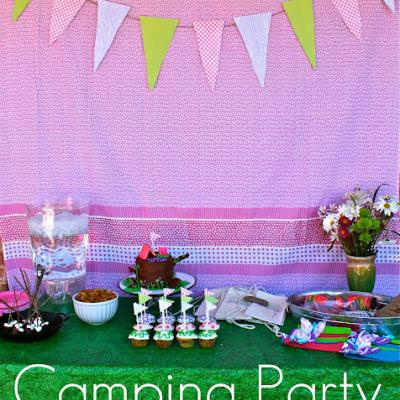 Troop Beverly Hills Camping Party {Childrens Party}