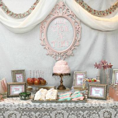 Vintage Princess Party