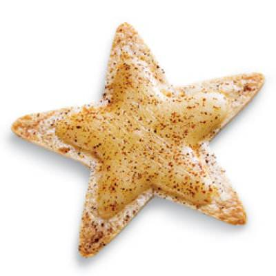 Crispy Cheese Stars {Finger Food for Kids}