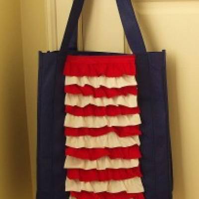 Patriotic Green Bag Make-Over