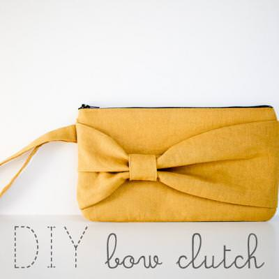 DIY Clutch with Bow
