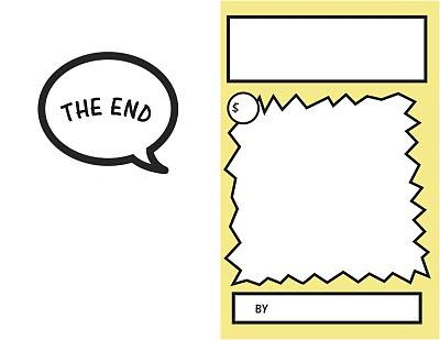 Blank Comic Book Pages {Printable}