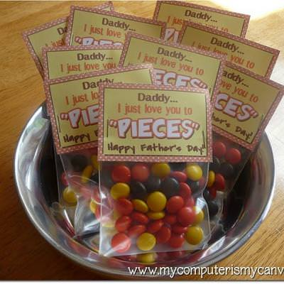 Daddy...I Love You To Pieces Printable