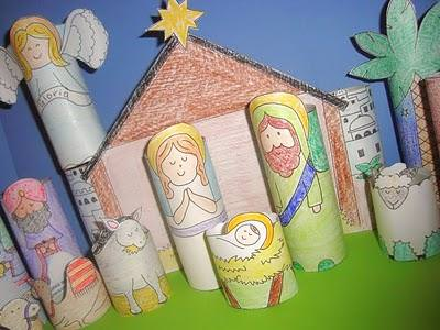 DIY Printable Nativity For Kids