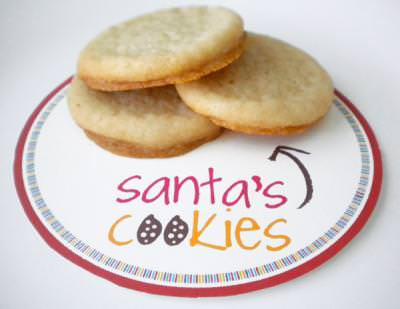 Dress up Santa's Cookie Plate with these FREE Label Printable