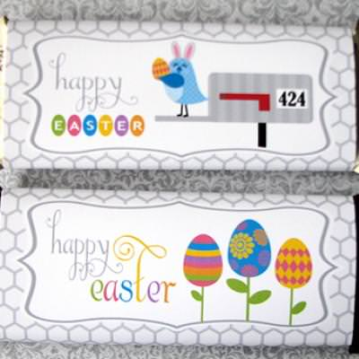 Easter Candy Bar Wrappers {Easter Printables}