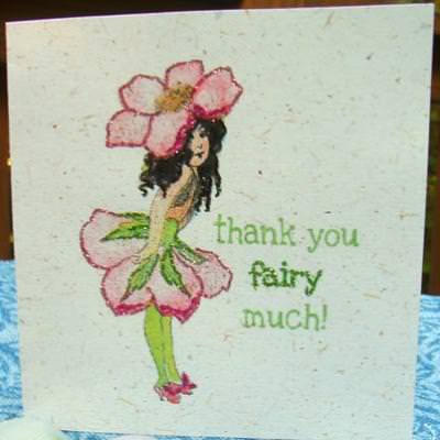 Fairy Thank You Card {printable}