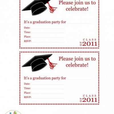 FREE Graduation Party Printables