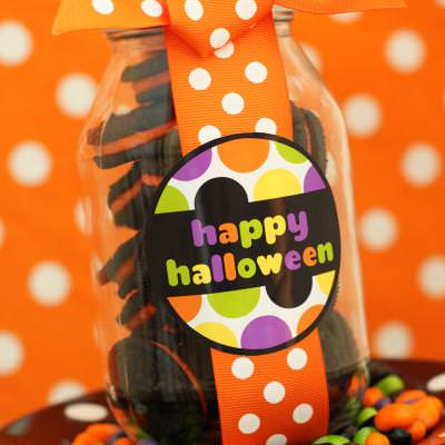 "FREE ""Happy Halloween"" Tags"