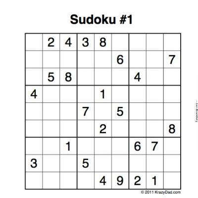 graphic about Printable Sudoku Grid identify Absolutely free Printable Sudoku Puzzles Idea Junkie