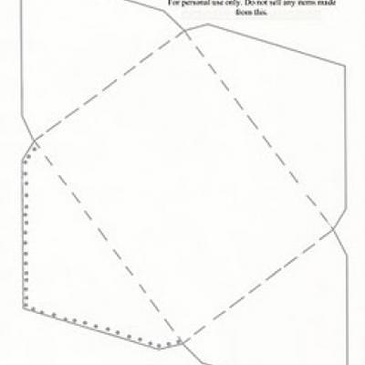 Greeting Card Envelope Template Online Printable Cards  Tip Junkie