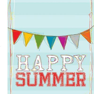 Happy Summer Sampler Print