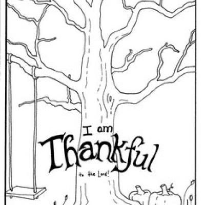 It is a photo of Delicate i am thankful for coloring pages