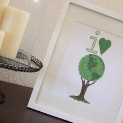 I Love Trees Earth Day Printable {Holiday Printable}