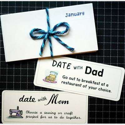Kids One-On-One Date Coupons {Printable}
