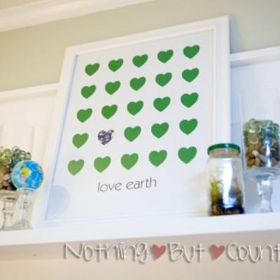 Love Earth Poster  {Free Earth Day Printables}