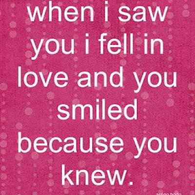 """""""Fell In Love"""" Quote {Free Printable}"""