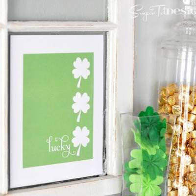Lucky Shamrock Printable