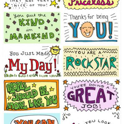 Lunch Box Notes & Kindness Cards